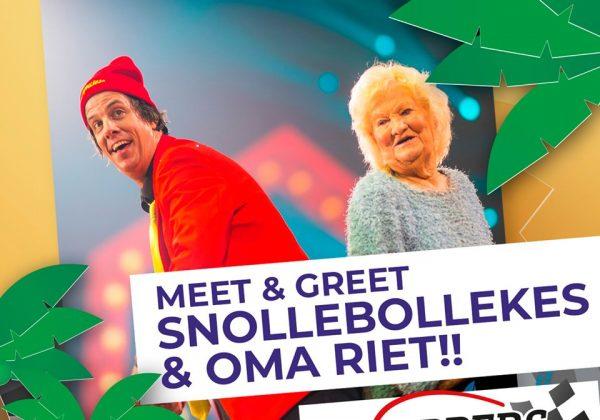 Win een Meet & Greet met Snollebollekes en Oma Riet!